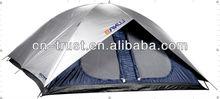 large famliy 2~8man silver coating waterproof camping tents