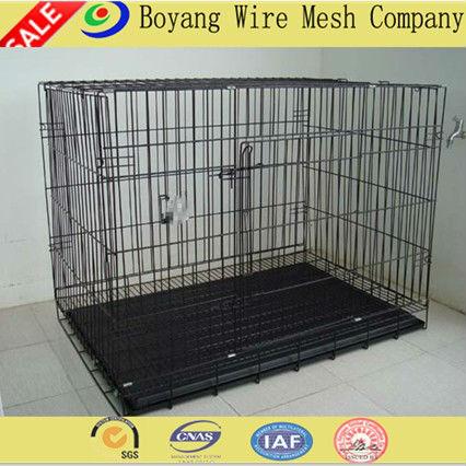 Hebei Größe: 24l*18w*19h zoll drahtstärke: 11#, 12#, 13# anping modular hund käfig