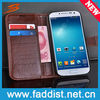 wallet leather case for galaxy s4 i9500 luxury pouch case