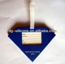 2013 eco-friendly high quality custom promotional airline paper baggage tag