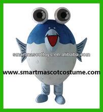 Hot selling halloween costumes fish make fish costume