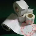 Llanura deimpresión térmica directa auto- adhesivo de la etiqueta