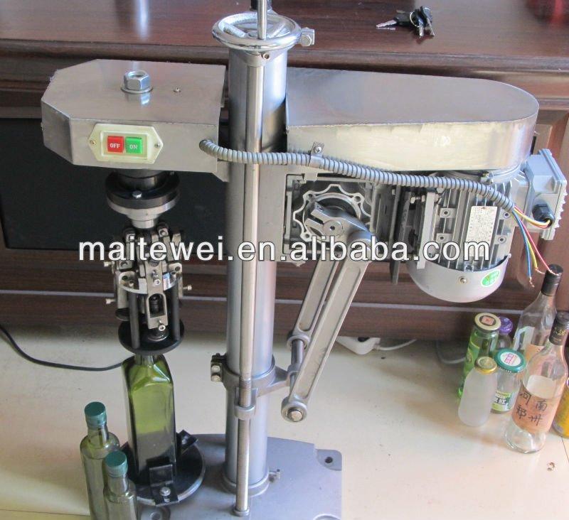 aluminum cap screw capping and sealing machine