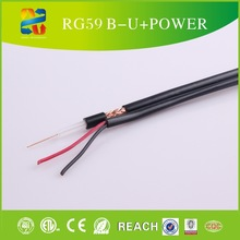 High quality China RG59 CCTV cable security camera/cable coaxial /antenna tv rg59 coaxial cable with power wire CCTV cable