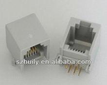 rj11 6P6C Connector PCB JACK
