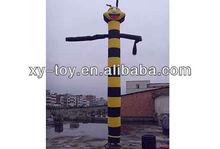 single air dancer blower,sky dancer inflatable air man dancer