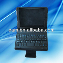 Removable Bluetooth Keyboard with Stand Folding Leather Case For iPad mini