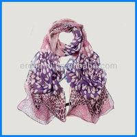 Factory chiffon custom-made printed shawls scarf
