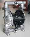 en acier inoxydable double pompe pneumatique