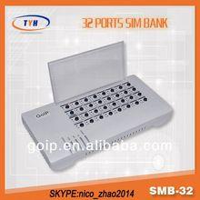 TYH Smb32 SimBank SimBank 32 Gsm GateWay PBX Server Software With Auto IMEI Change
