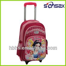 Girl Hello Kitty Trolley Bag For School