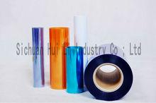 PVC plastic film manufacture in China