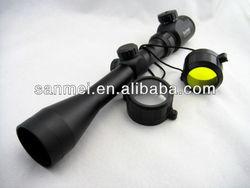 3-9X40 zoom Reflex Sight Laser Rifle Scope con postola de montaje(Red+Green Laseer Configurable)
