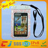 Universal cheap pvc waterproof neck pouch for samsung i9200 s2