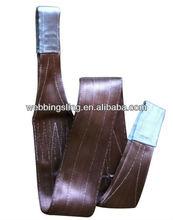 polyester flat woven webbing sling W.L.L:6000kg