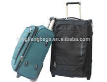 2015 baigou nylon super light fashion luggage set