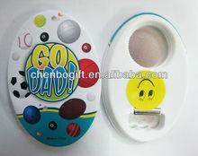 Manufacturer - Magnetic plastic bottle opener / promotional beer opener fridge magnet