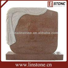 Upright Granite Grave Stone