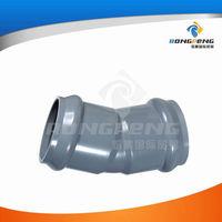 RP020011 22.5 degree pvc fittings plastic elbows