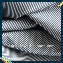 cotton poplin fabric cotton blue and white striped