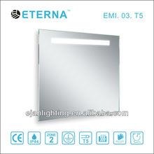 IP44 T5 Fluorescent waterproof backlit mirror lights for bathroom