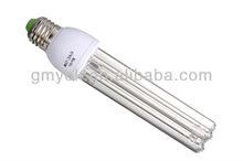 8,000h Lifespan E27 screw base 10w 15w 20w UV germicidal Lamp with self-ballast for air ventilation