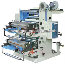 J-YT Series Two color FlexographicType Plastic Bag Printing Machine
