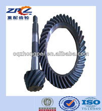 New Products of Bevel Gears for American Heavy Tractors and Other Heavy Trucks
