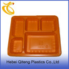 eco friendly plastic microwave airline food trays