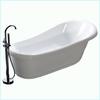 Acrylic Classical Bathtub Freestanding