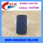 PU+PC leather case cover for samsung galaxy s4 with card slot
