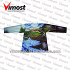 sublimation printing t-shirt with coolmax