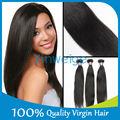 100% prima natural sin procesar brasileño virgen remy del pelo al por mayor envío rápido