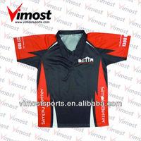 free design custom sublimation polo shirt/golf shirt