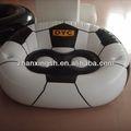 Lastest kanepe tasarımları 2014 shanghai Zhanxing sıcak satış konforlu pvc ucuz futbol şişme kanepe