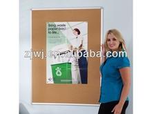 GBB-003 Aluminum frame pin bulletin cork board notice board