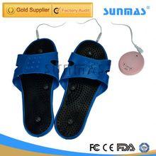 Sunmas SM9118 crown comfort slippers leg massager(foot massager)
