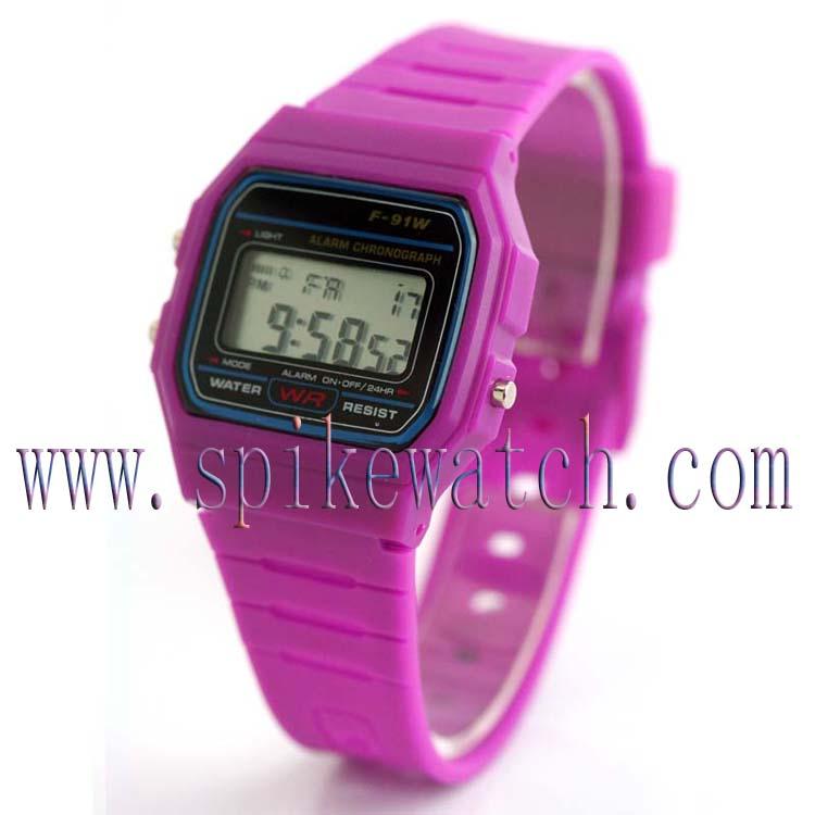 Chinese Watch Thin Rubber Sport Watch Unisex Watch Sport