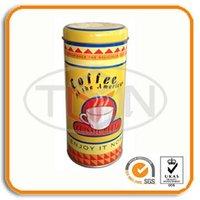 round coffee tin can