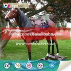 Fiberglass life size horse statues
