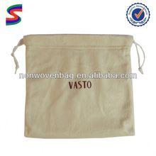 Blank Cotton Drawstring Bag Drawstring Tea Bag