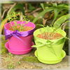 Cheap plastic flower pot,Hotest promotional items,2013 novel promotion gifts