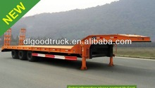 50T low bed semi trailer low bed trailer for sale 0086-13635733504