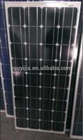 100w monocrystalline solar pv module solar pv panel TUV IEC61215 IEC61730 CEC FCC ISO CE