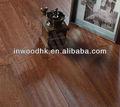 de madera handscraped suelo chino de madera de nogal