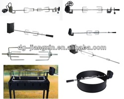 4 to 6 burners gas grill electric rotisserie kit