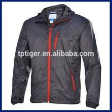 2015 Lightweight Outer Hiking Wear Men Hooded Wind Stop Jacket