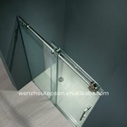 Rectangular Frameless Tempered Glass Sliding Shower Door & Shower Screen