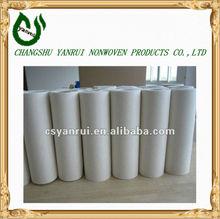 100% agulha perfurado tecido de bambu