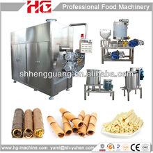 Low cost chocolate filled wafer stick machine/small wafer stick making machine /processing automatic wafer stick machine